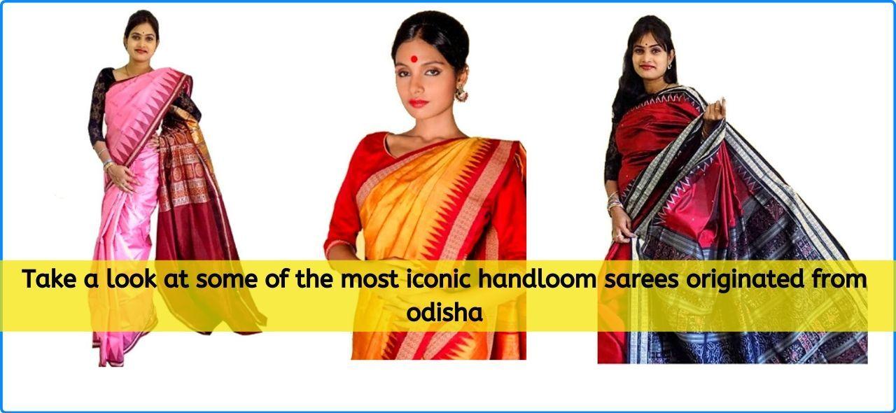Handloom Silk Sarees From Odisha
