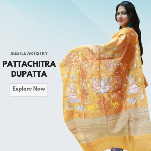 Hand Painted Dupatta & Stoles