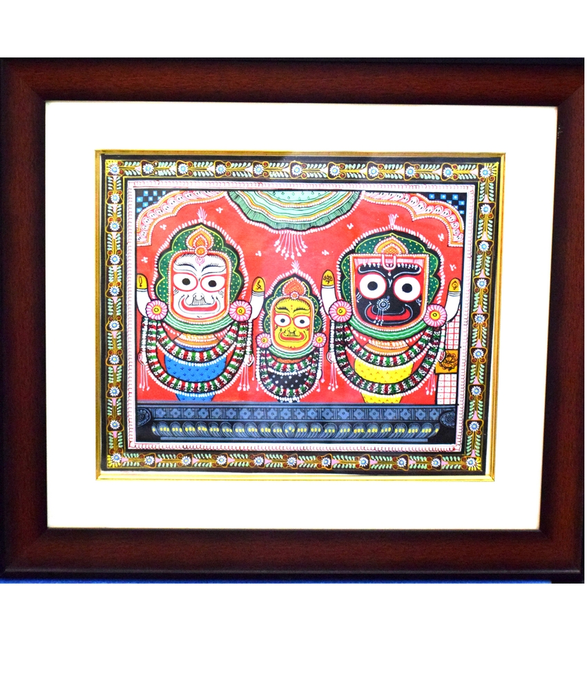 Lord Jagannath Pattachitra  Painting