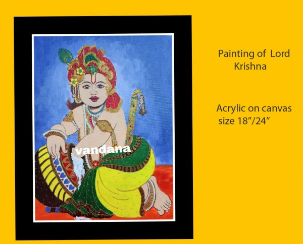 Painting of  Lord Krishna