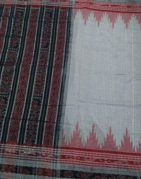 Ikat Cotton Saree