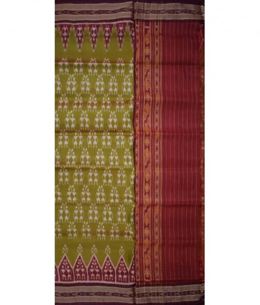 Tribal Khandua Silk Saree