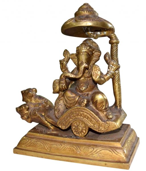 Brass Made Lord Ganesha Statue