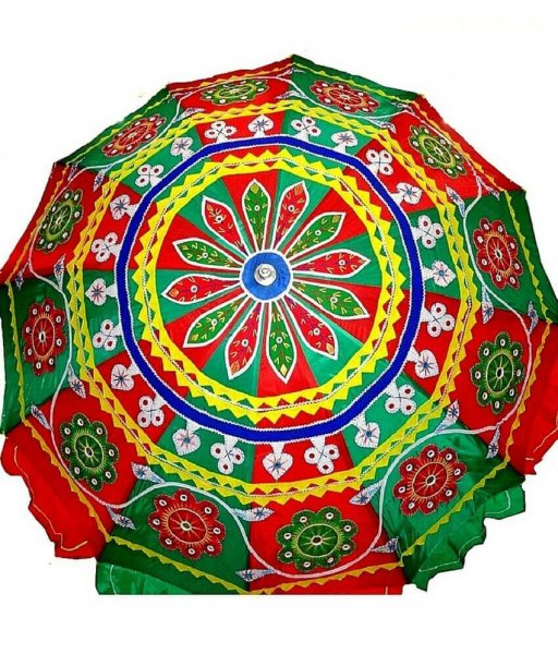 Applique Garden Umbrella