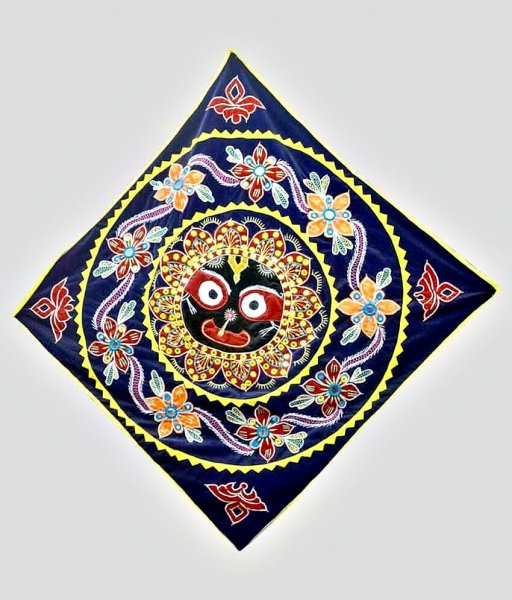 Blue Applique Jagannath Chandua
