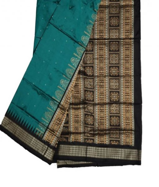 Bomkai Silk Plain Saree