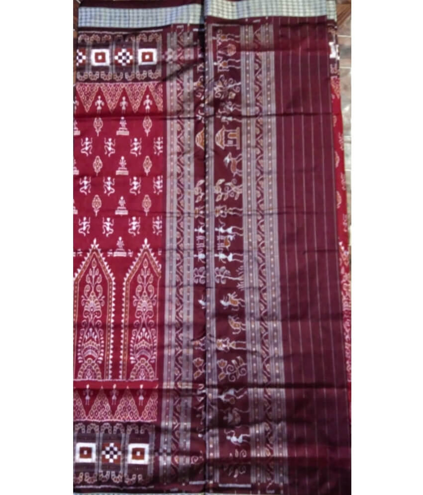 Tribal Sambalpuri Silk Saree