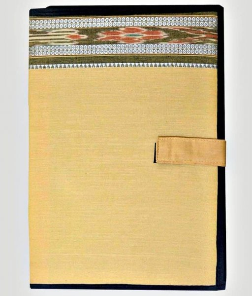 Cream Color Handmade File Cover