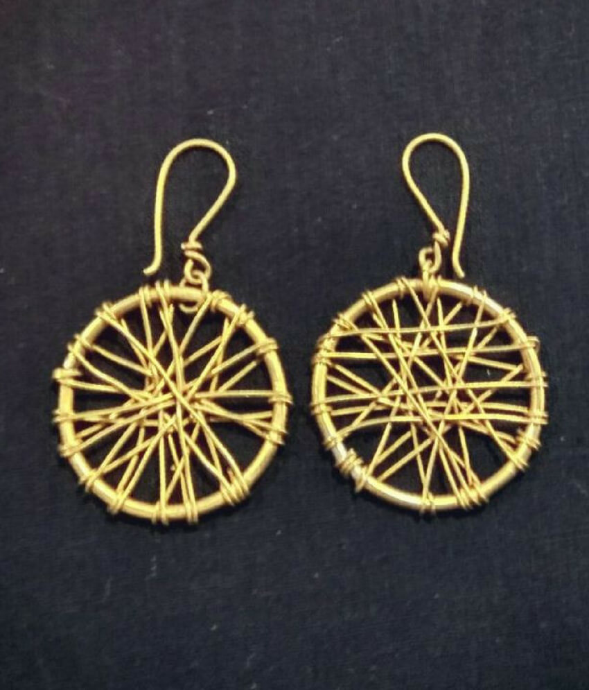 Dhokra Handcrafted Earring