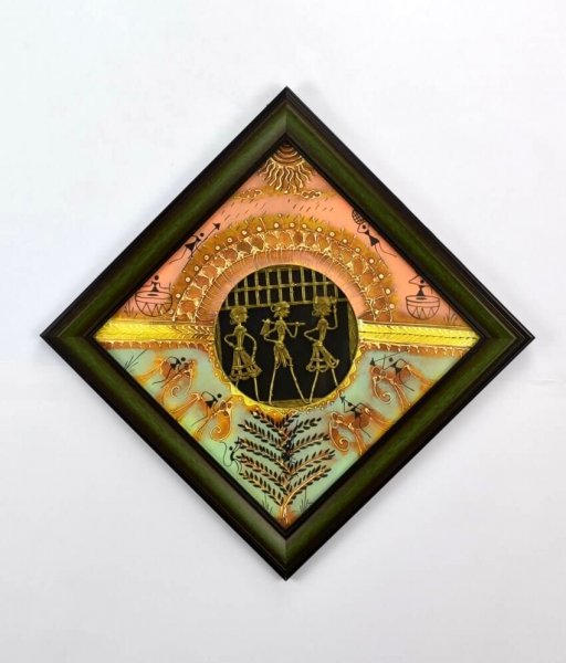 Dhokra Tribal Painting