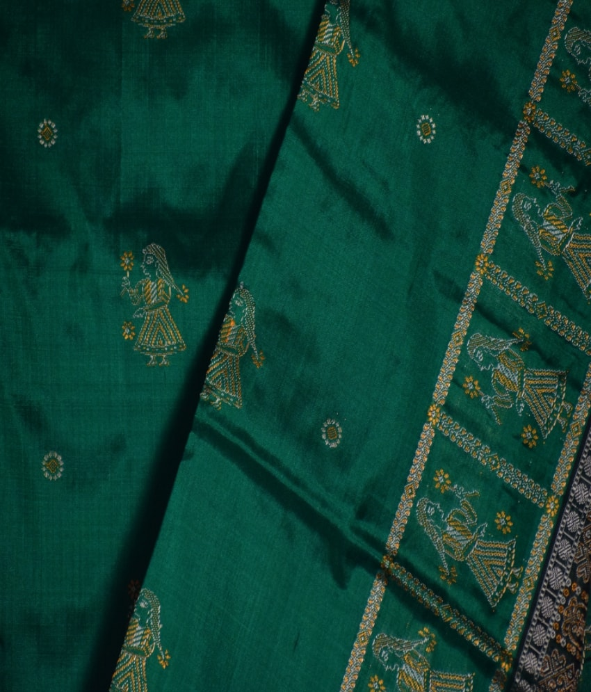 Body Bomkai Pittala Design Silk Saree