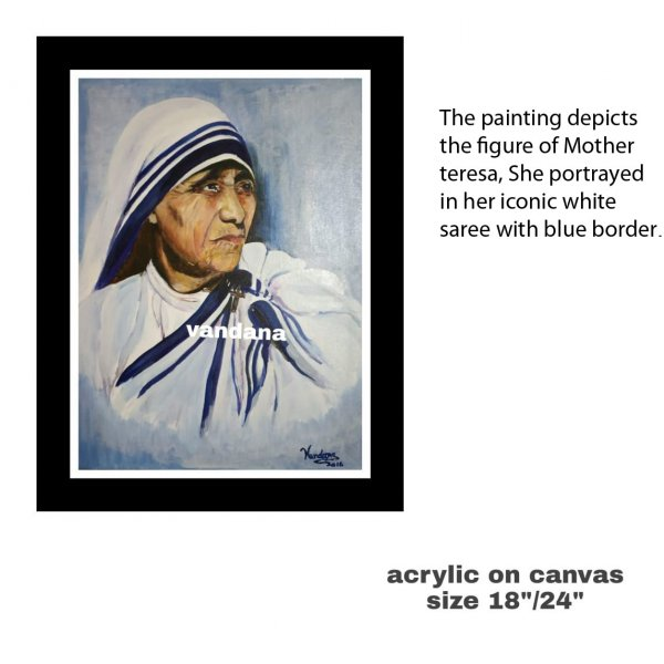 Painting of Mother Teresa