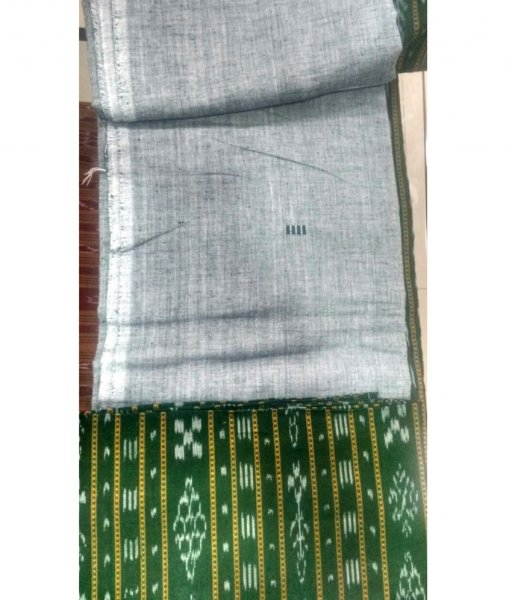 Green Sambalpuri Suit Piece