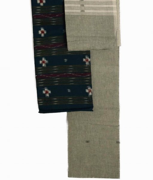 Ikat Green Colour Sambalpuri Suit