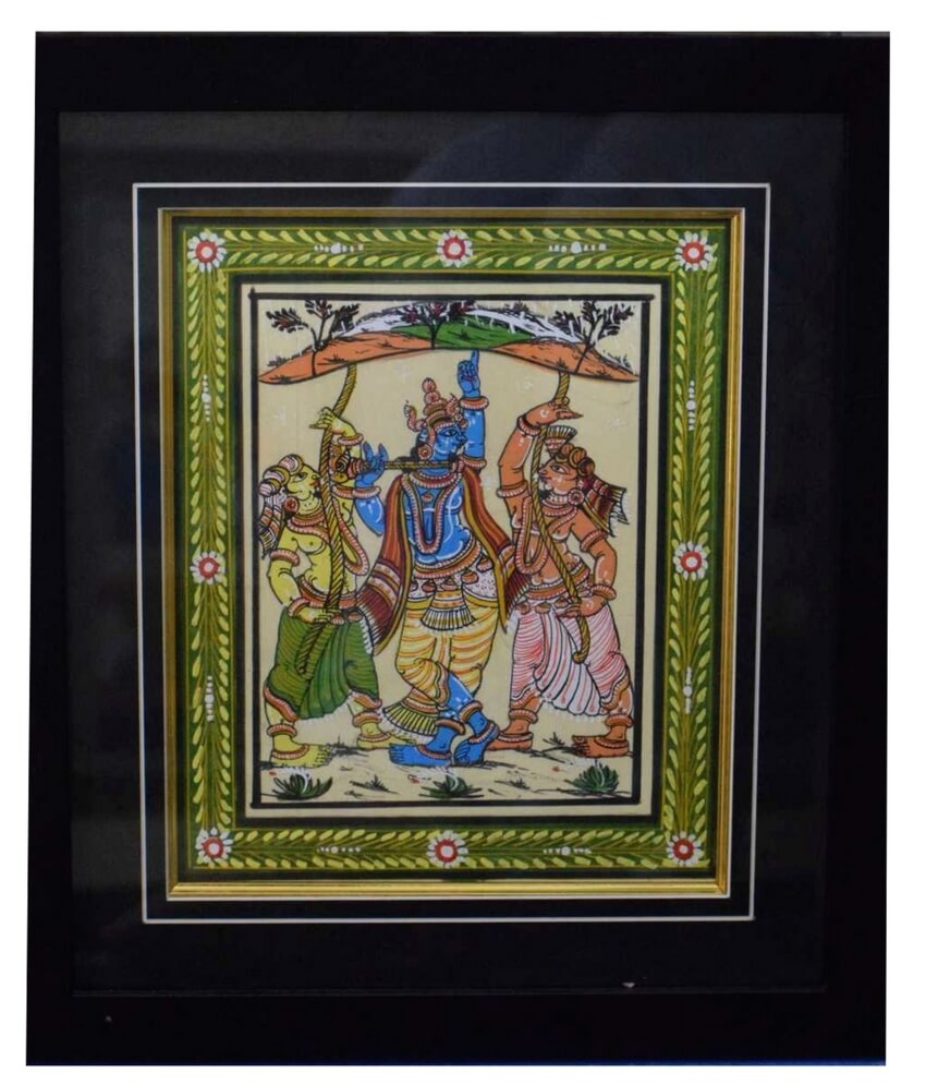 Lord Krishna Pattachitra
