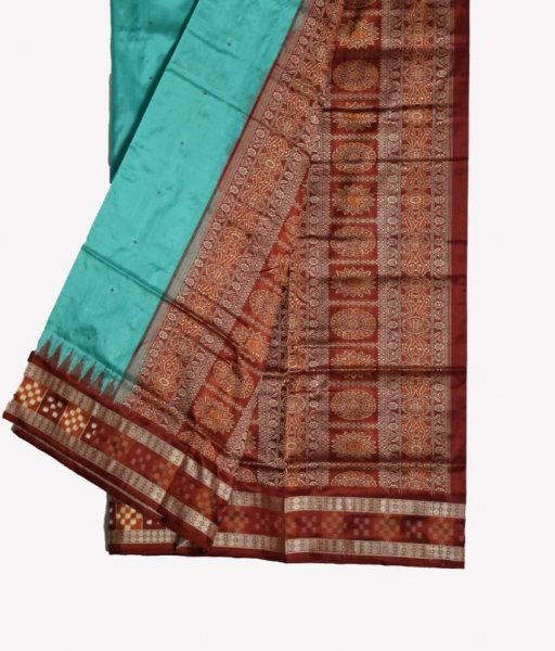 Pasapali Border Silk Saree