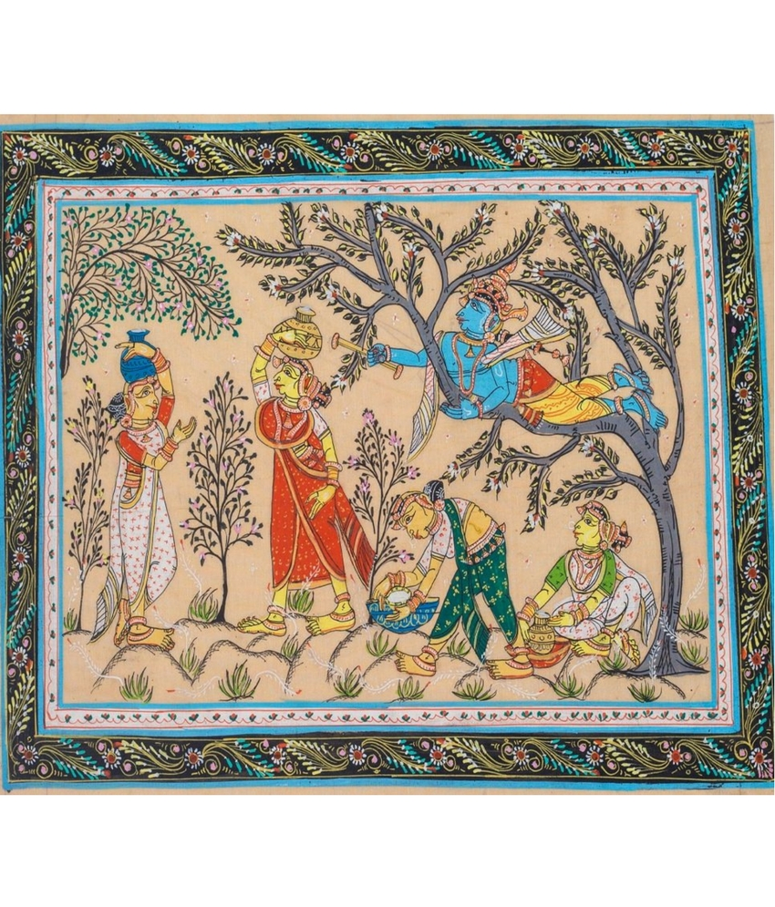 Pattachitra Dahichori