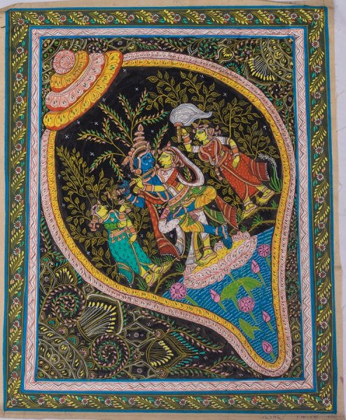 Rasa Leela Of Lord Krishna