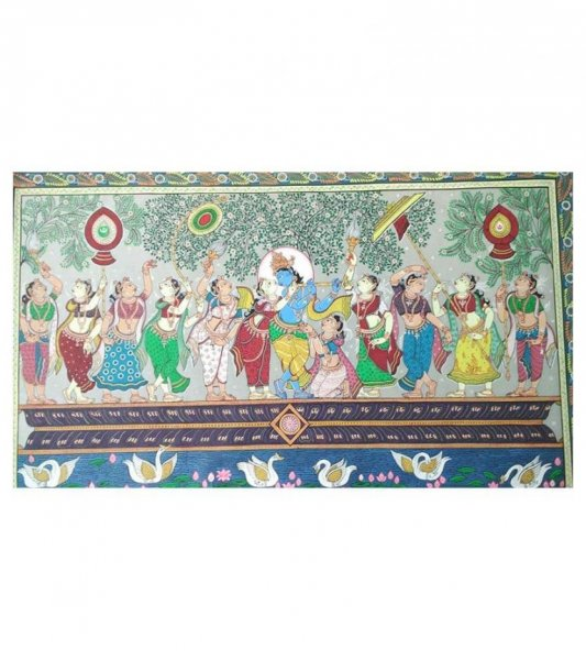 Rasa Leela Pattachitra of Lord Krishna