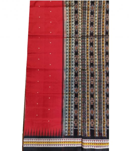 Red Dongria Saree
