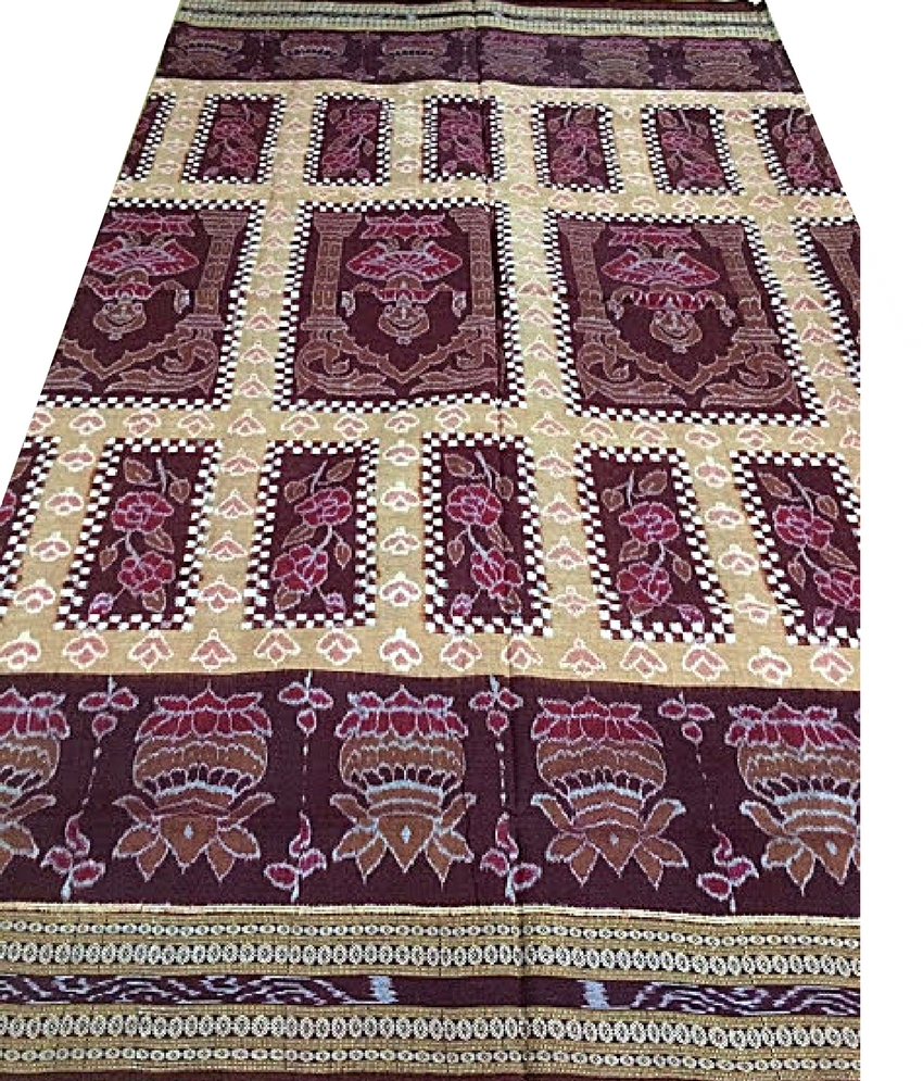 Sambalpuri Cotton Ikat Saree