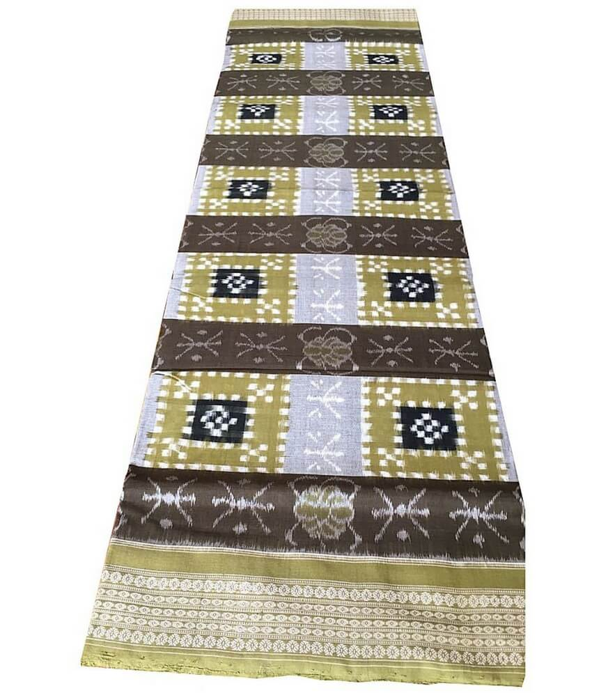Sambalpuri Cotton Pasapali Saree
