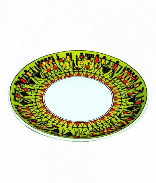 Soura Painted Ceramic Plate