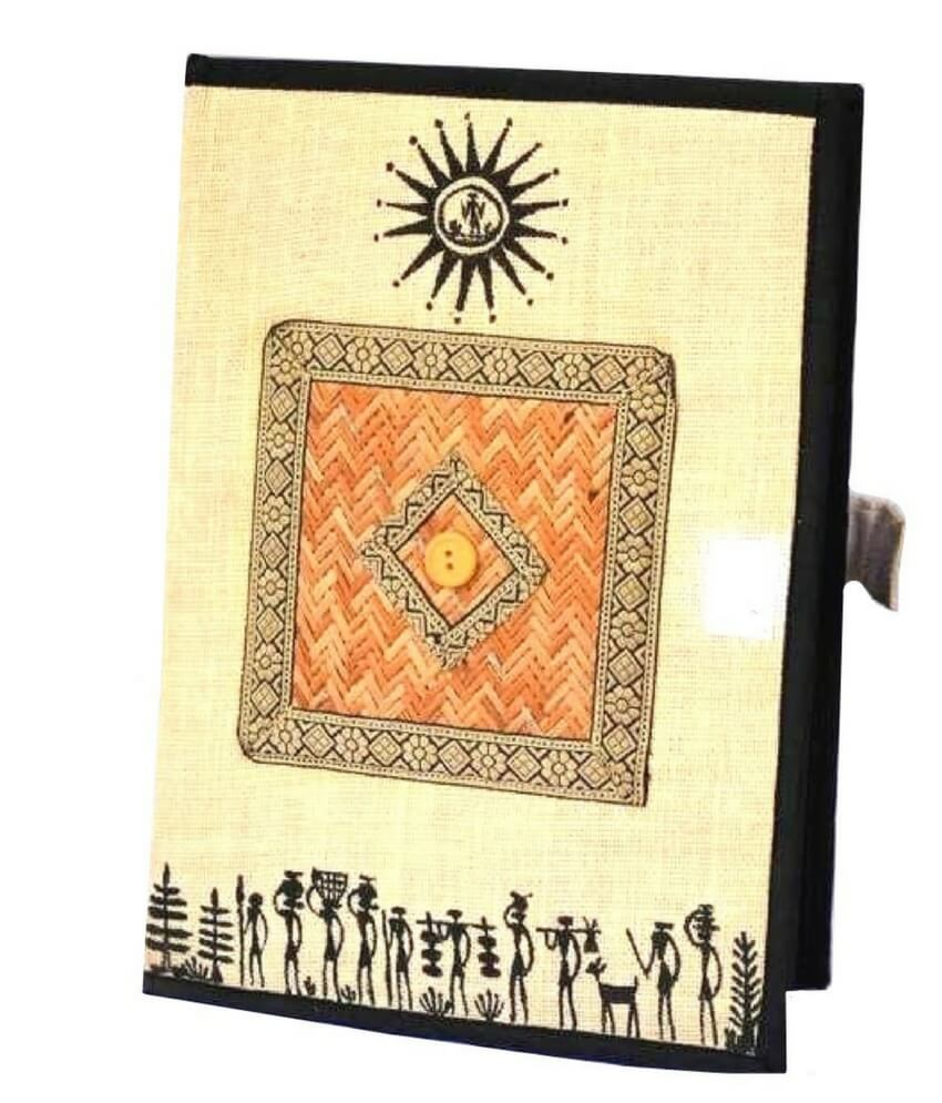 Soura Painting Handmade File Cover