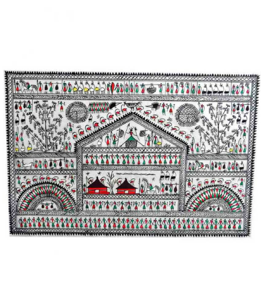 Tribal Pattachitra Painting