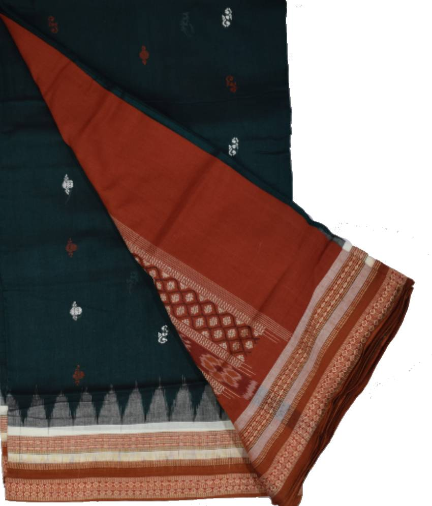 Bomkai Cotton Saree