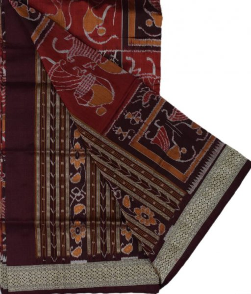 Sambalpuri Tribal Silk Saree