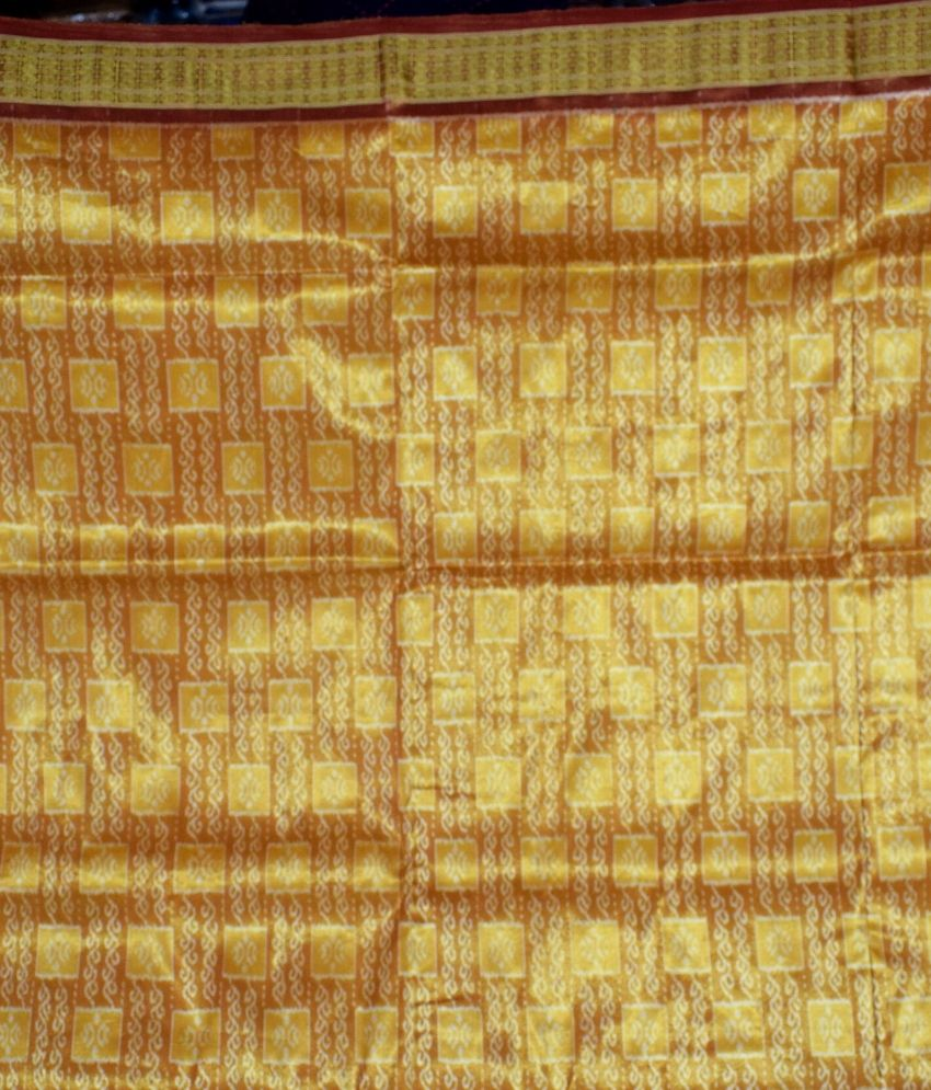 Bomkai Tissue Silk Saree
