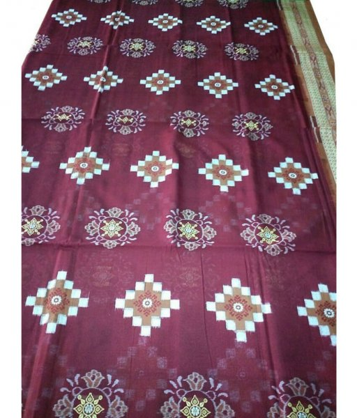 Pasapali Hand Woven Cotton Saree