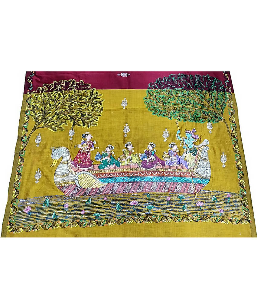 Pattachitra Navakeli Of Lord Krishna