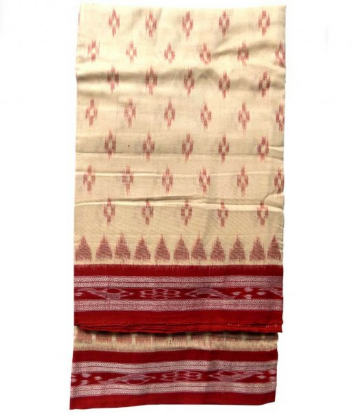 Handloom Khandua Cotton Saree
