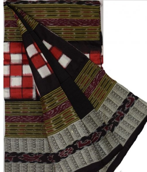 Sambalpuri Bichitrapuri Silk Saree