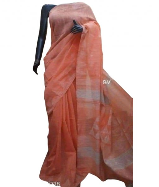 Silk Cotton Handwork Saree