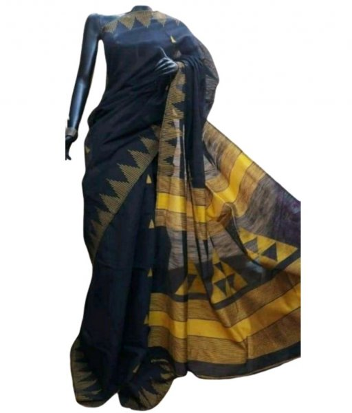 Cotton Silk Handwork Saree