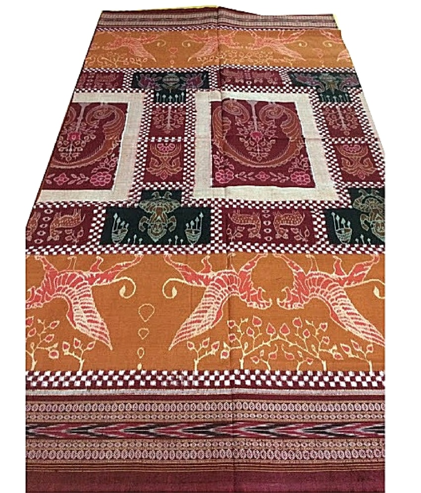 Handwoven Sambalpuri Cottoon Saree