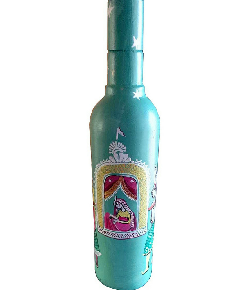 Wedding Doli Pattachira Work Bottle