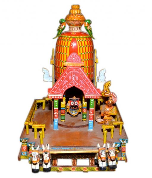Wooden Jagannath Rath